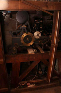 St James' Church - The Clock Mechanism made by Gillet and Co